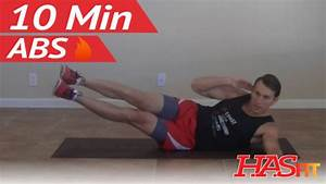 Torching 10 Minute Abs Workout - Hasfit Ten Minute Ab Workouts