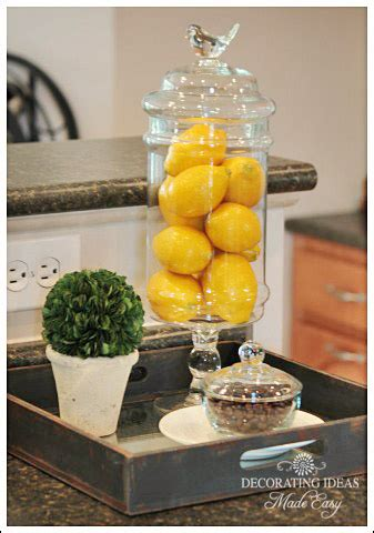 Lemon Decorations For Kitchen - kitchen decorating ideas you will