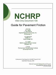 Nchrp W108 Fhwa Friction Guide