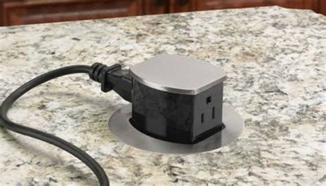 countertop electrical receptacles hubbell introduces pop up receptacle ul listed for