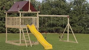 Wood Swing Sets NJ Cedar Swings & Playsets Maryland