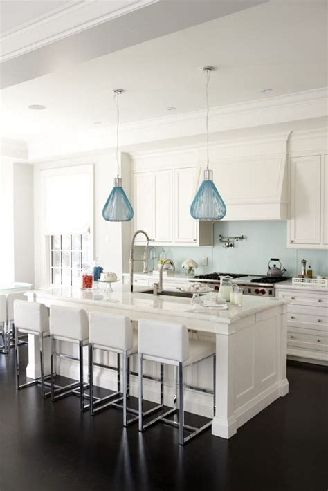 blue kitchen pendant lights 200 beautiful white kitchen design ideas that never goes 4830