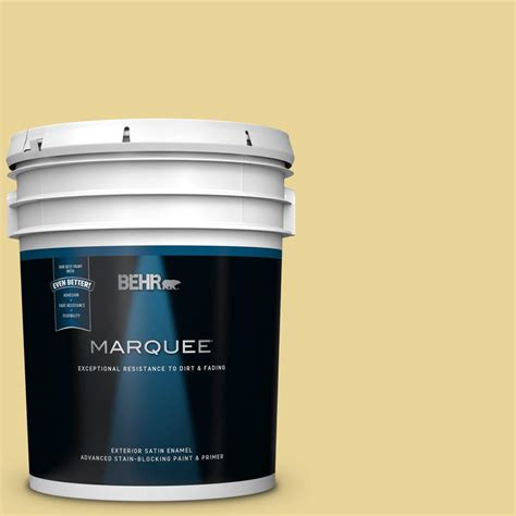 behr marquee 5 gal 390d 4 honey beige satin enamel