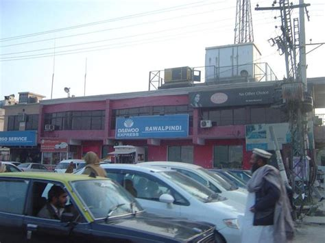Daewoo Bus Terminal, Rawalpindi By Rashid Farooq