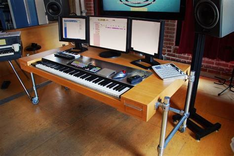 music studio desk workstation matt locke 39 s composer 39 s desk mis gustos pinterest