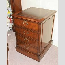 Victorian Mahogany Office File Cabinet Drawer Chest Filing