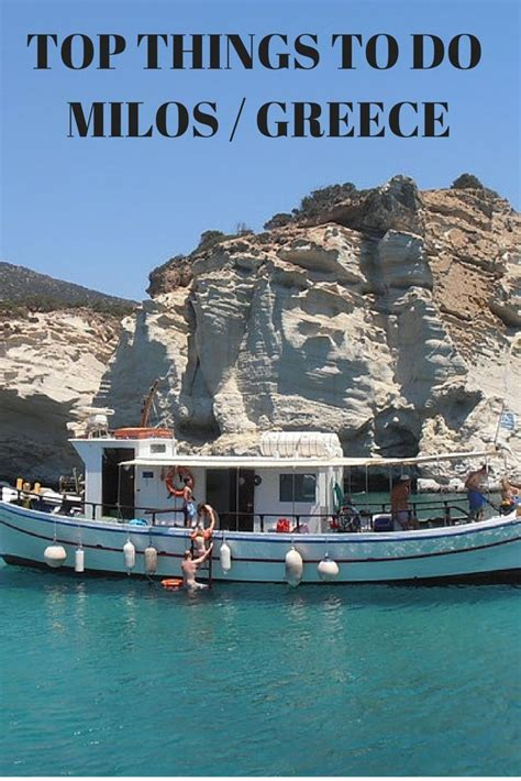 Milos Island Greece 12 Top Things To Do West Europe