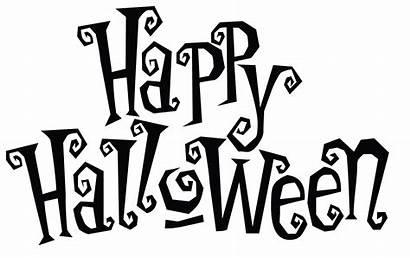 Halloween Happy Transparent Clipart Background Font Fonts