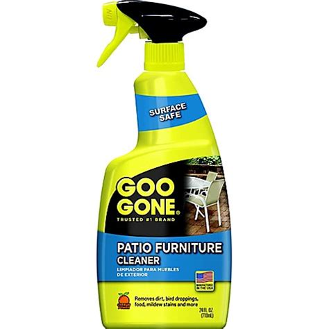 patio furniture cleaner goo 174 24 oz patio furniture cleaner bed bath beyond