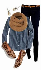 Cute casual winter outfits | Clothes | Pinterest | Winter outfits Chambray outfit and Denim top