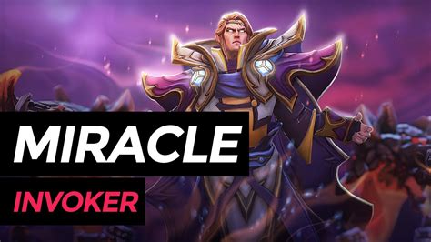 miracle invoker dota  highlights ranked match youtube