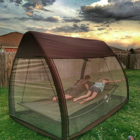 Enclosed Hammock by Screen Enclosed Hammock Bug Free Relaxation Find