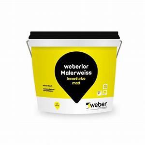 Gut Deckende Wandfarbe : weberlor malerweiss ~ Watch28wear.com Haus und Dekorationen