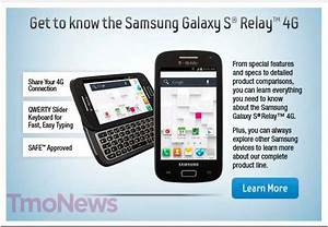 Samsung Galaxy S Relay 4g Gets Official  Revealed In T