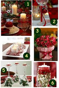 simple easy christmas table decorations With simple table decoration ideas for great celebrations