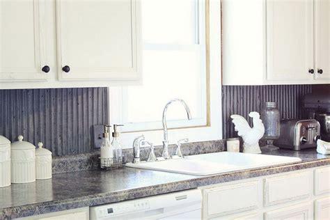 Corrugated Metal Backsplash : Corrugated Tin Kitchen Backsplash (corrugated Tin Kitchen