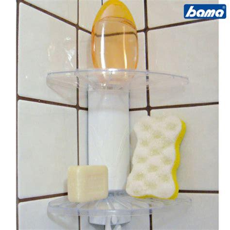 mensole plastica angolo doccia angoliera bagno 2 mensole ripiani plastica