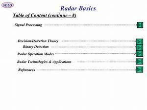 1 Radar Basic