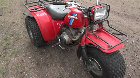 1984 Honda Big Red 200 Es Three Wheeler. One