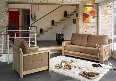 canap 2 places avec m ridienne canape en bois moderne mzaol com