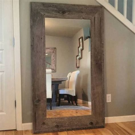 extra large floor mirror  room makeover