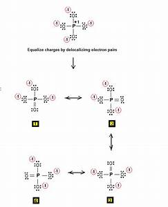 Simple Method For Writing Lewis Structures Of The Phosphate Ion  Po4
