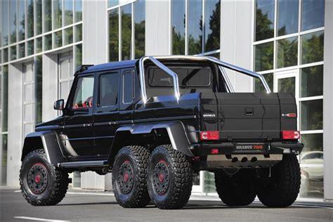 Mercedes-benz G63 Amg B63s-700 6x6 By Brabus