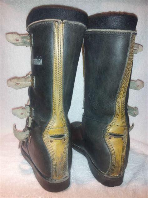italian motocross boots purchase vintage rare vendramini motocross boots italy