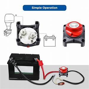 12v 24v 48v Excellen Marine Boat Car Battery Isolator