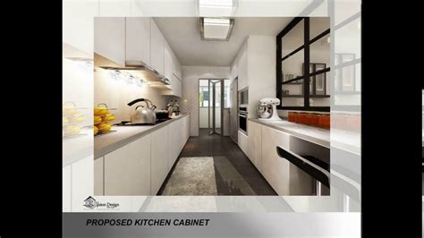 Bto 4 Room Kitchen Design  Youtube