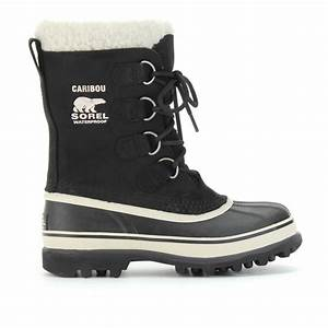 Sorel Caribou Boots in Black | Lyst