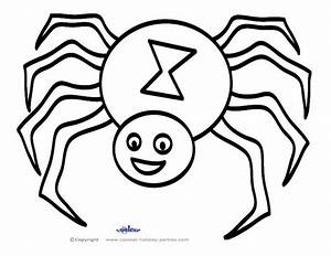 Spiders For Kids AZ Coloring Pages