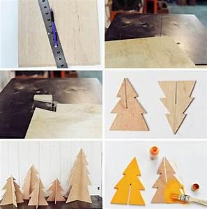 Bricolage Bois Facile : bricolage de no l en bois 20 id es et tapes faciles suivre ~ Melissatoandfro.com Idées de Décoration