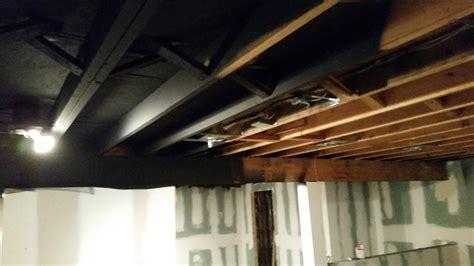 Drywall Basement Ceiling Framing New Home Design