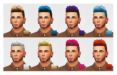 lumia lover sims slicked  shaved hairstyle sims
