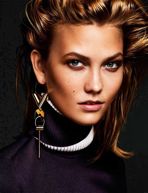Keeping With Karlie Kloss Alique For Vogue
