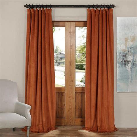 orange curtain panels exclusive fabrics furnishings signature gate