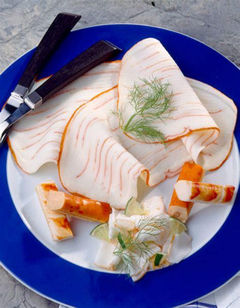 recettes de cuisine fr3 sandwich hawaïen au surimi recettes à table