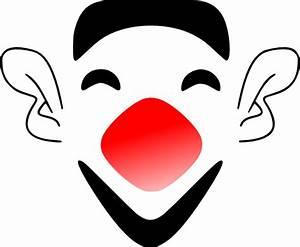 Laughing Clown Face Clip Art at Clker.com - vector clip ...