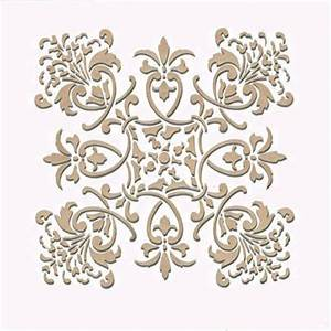 Wall Stencil Small Florence Tile Stencil Royal Design