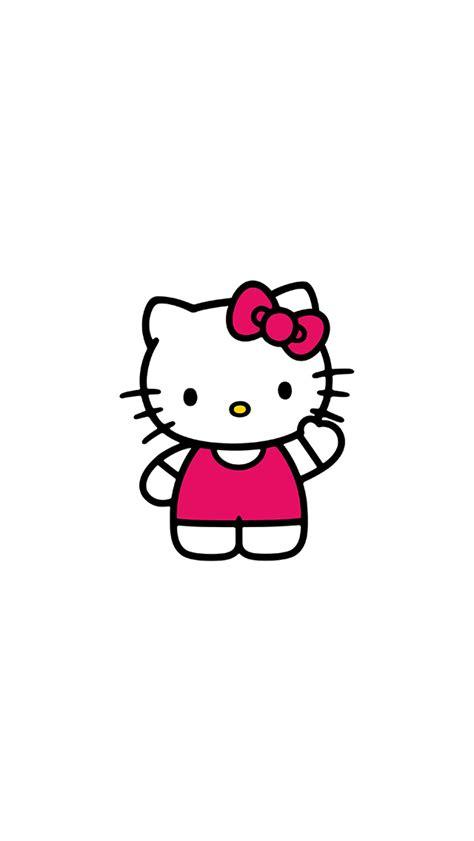 ao  kitty art cute logo minimal papersco
