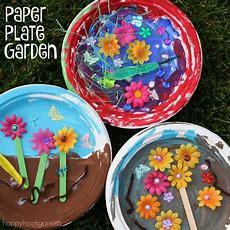 "Paper Plate Garden A Fun Letter ""g"" Craft  Happy Hooligans"