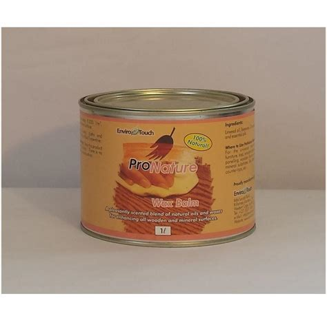 ProNature Wax Balm ? Hardwood Floor Services