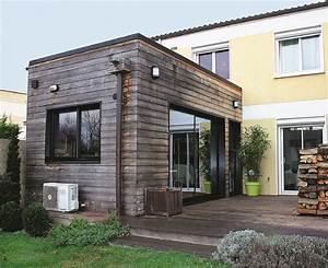 Prix Extension Bois 40m2 : construire une extensio ossature bois ~ Nature-et-papiers.com Idées de Décoration