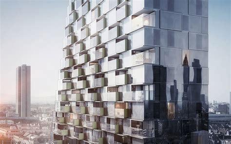 porsche design tower construction wohnhochhaus quot porsche design tower frankfurt quot geplant