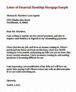 sample financial hardship letter 9 examples in word pdf With how to write a hardship letter for mortgage assistance