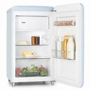 Retro Kühlschrank A : popart blue retro refrigerator a 108 l 13 l freezer blue blue klarstein ~ Orissabook.com Haus und Dekorationen