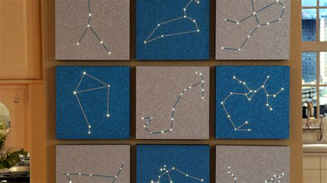 zodiac constellation wall art video martha stewart
