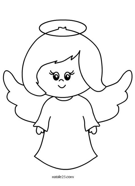 disegni per bambini da disegnare angelo disegno per bambini natale 25