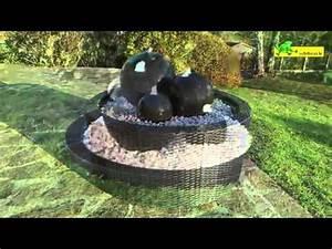 Fontaine Exterieur Zen : installer une fontaine de jardin youtube ~ Nature-et-papiers.com Idées de Décoration